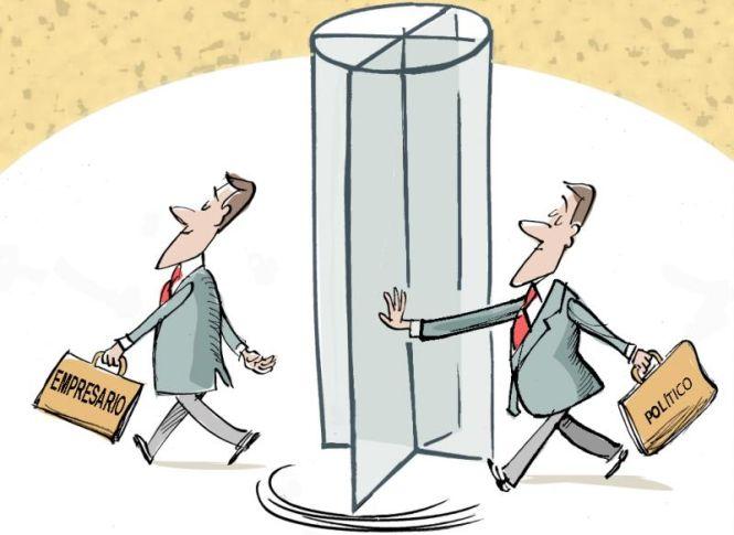 Puertas giratorias: Pasar de político a empresario sin cuarentena es peligroso para la salud de la economía.