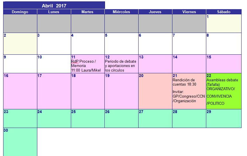 Abril Primarias 2017